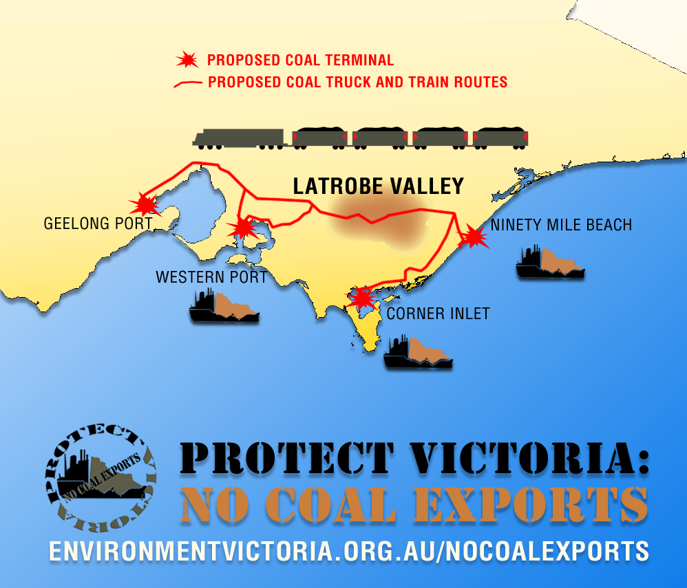 Protect Victoria - No Coal Export