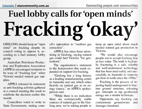 fracking-okay article