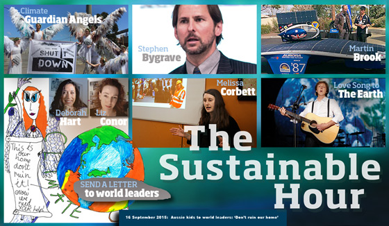 The Sustainable Hour on 94.7 The Pulse on 16 September 2015