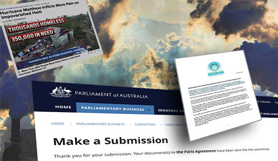 Our submission to the Australian Government