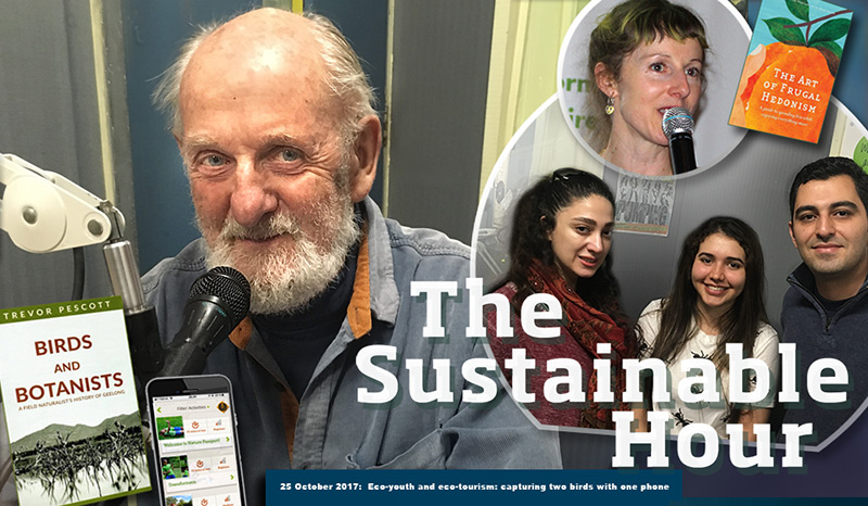 The Sustainable Hour no 192 on 94.7 The Pulse