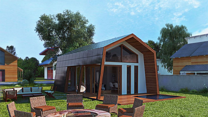 Climate resilience diy the sustainable kit house centre for Green home building kits