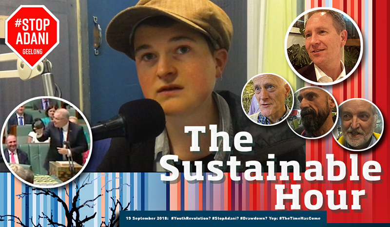 The Sustainable Hour with Charlie Wood from Tipping Point and Gene Blackley from Drawdown Australia