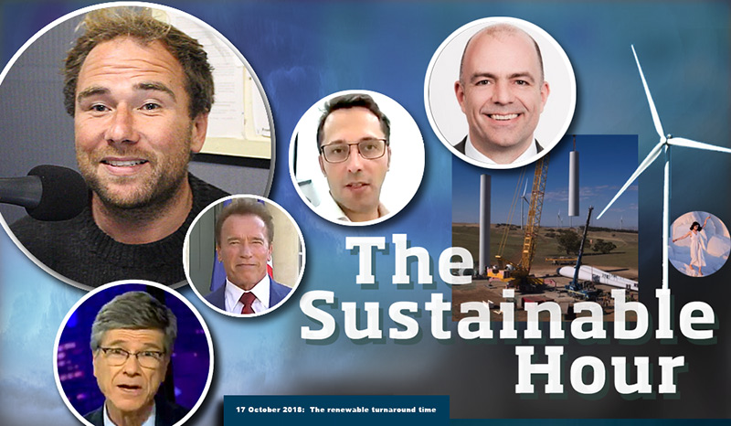 The Sustainable Hour with Damien Cole and Peter Cowling