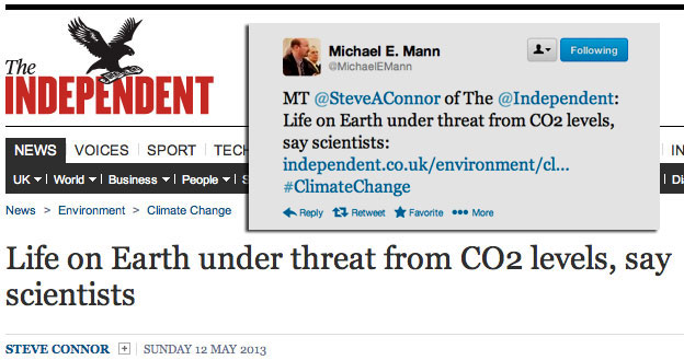 The Independent: Life on Earth under threat