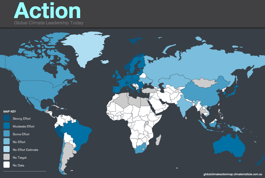 Click to go to the Global Climate Action Map