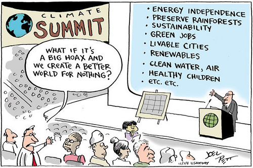 Comic by Joel Pett published in USA Today