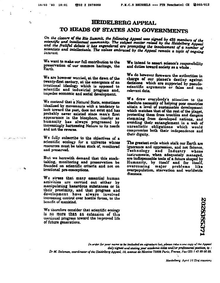 heidelberg-appeal