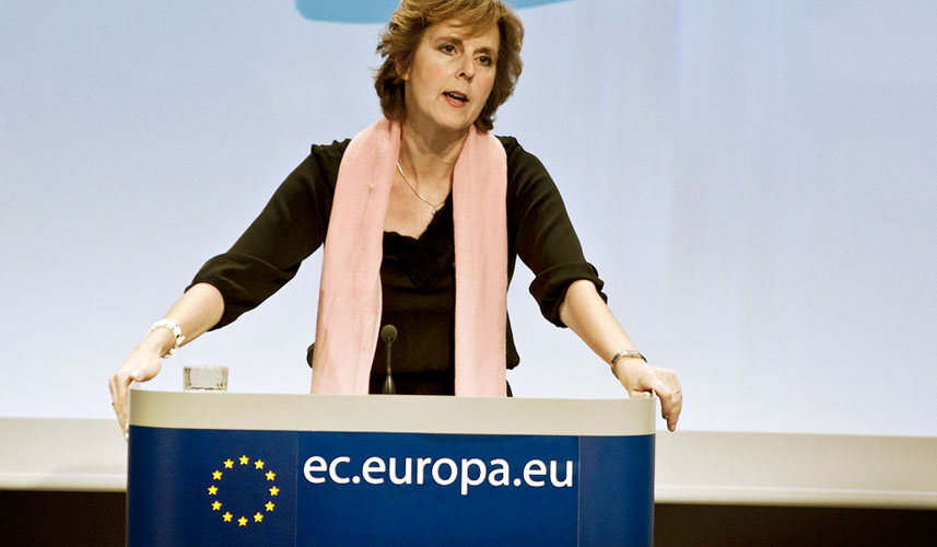 EU Climate Commissioner Connie Hedegaard. Photo: courtesy of schoolvoorjournalistiek.com
