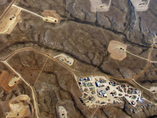 What fracking looks like from above