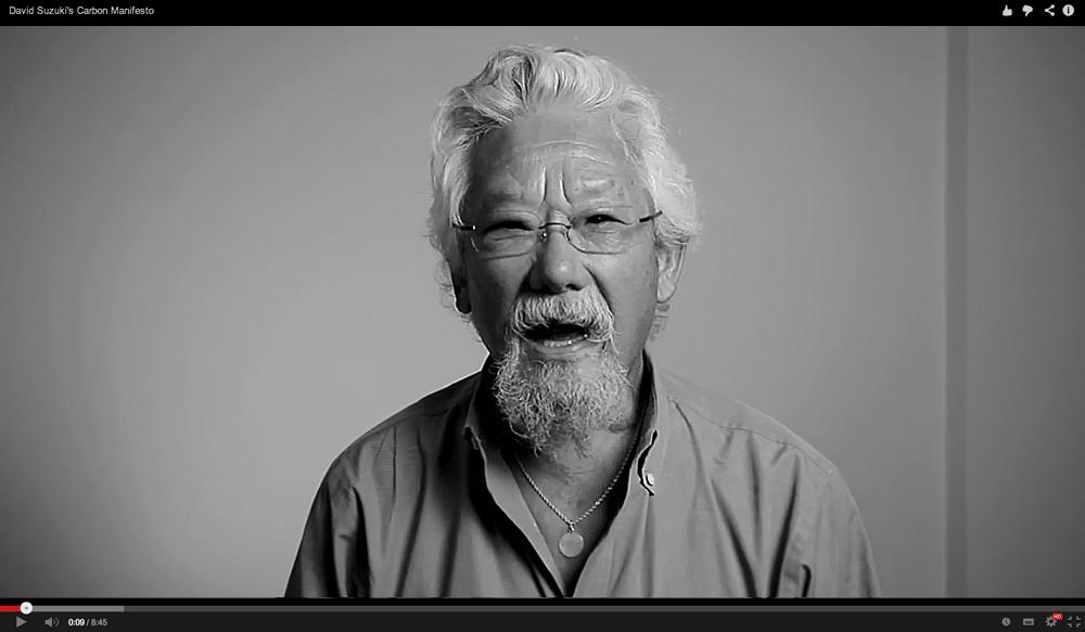 David Suzuki's Carbon Manifesto