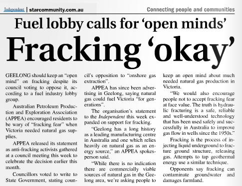 fracking-okay article