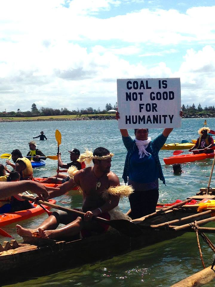 Pacific climate warriors have a message for Tony Abbott