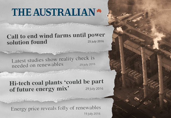 GetUp's response to the anti-renewables campaign in The Australian