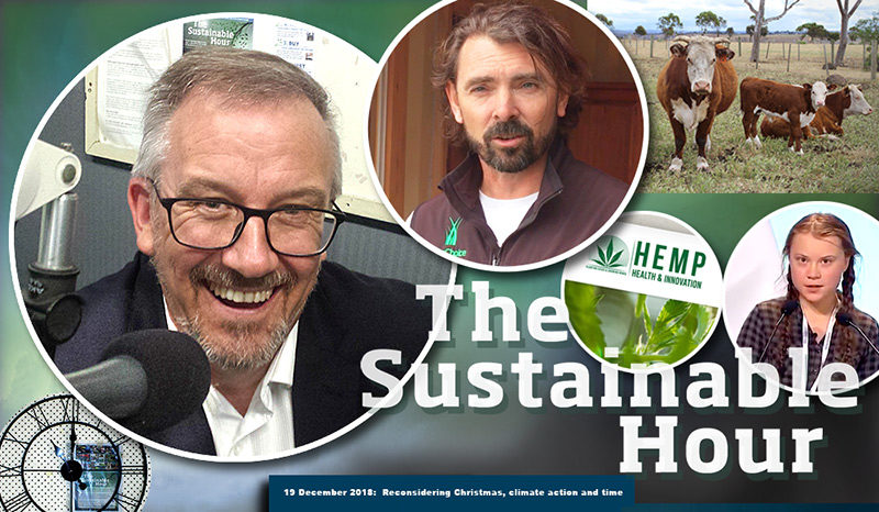 The Sustainable Hour no 247  Reconsidering Christmas, climate action and time