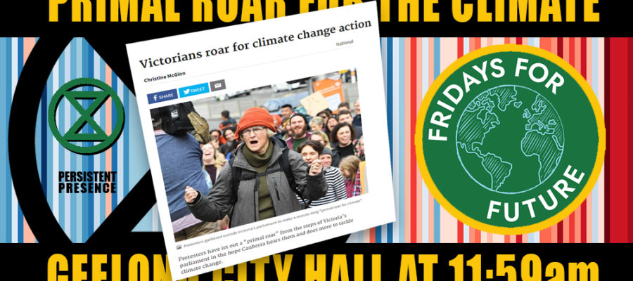 Primal roar for the climate