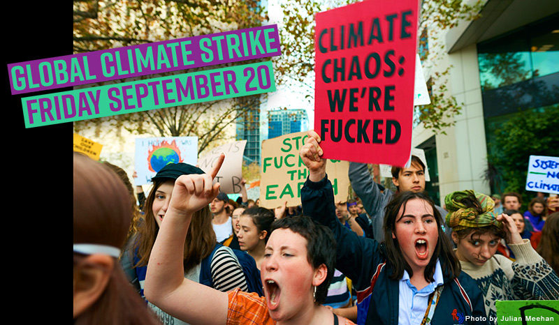 Biggest ever global climatestrike announced