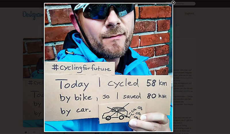 #cyclingforfuture