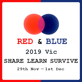 Red and Blue Gatherings 2019 VIC